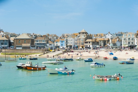 Town Beach in St Ives