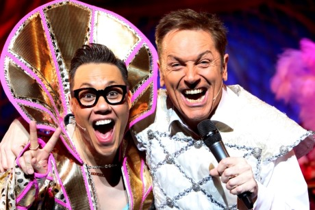 Gok Wan as the 'Fairy Gokmother' and Brian Conley as 'Buttons'