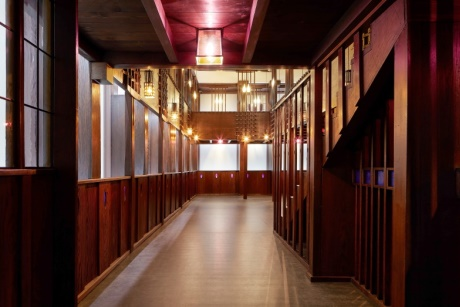 Charles Rennie Mackintosh's Oak Room has been restored and reconstructed
