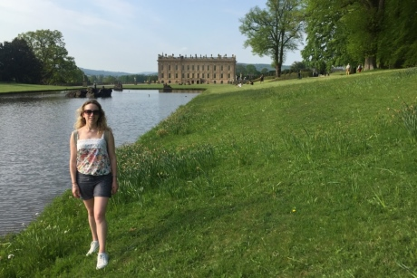 Keeley at Chatsworth