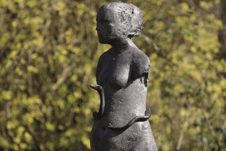 Sculpture trail at Bishop's Palace