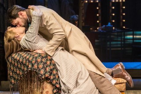 Gina Beck (Magnolia Hawks) and Chris Peluso (Gaylord Ravenal) in Show Boat. Photo credit Johan Persson