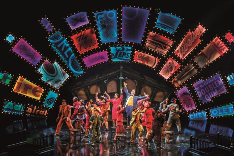 Guys And Dolls To End West End Run Early %7C Group Travel %7C Theatre News %7C The company of Guys and Dolls - credit Johan Persson