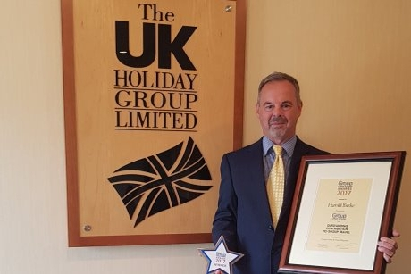 Harold Burke%2C sales director of the UK Holiday Group