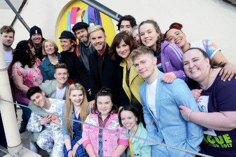 Cast of The Band with Take That