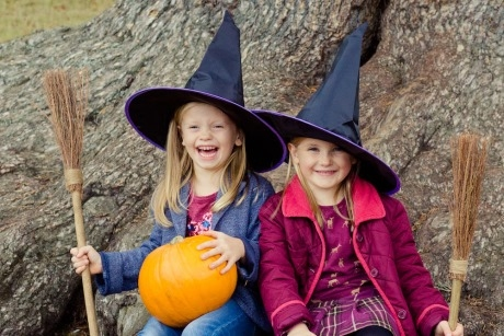 Little witches at Blenheim