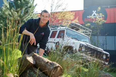Bear Grylls has opened the new attraction in Birmingham