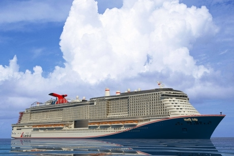 Carnival Cruise Line Mardi Gras to debut in Europe