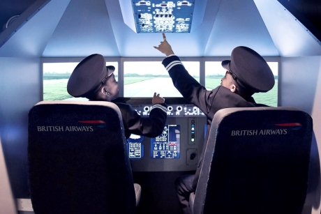 The KidZania BritishAirways experience