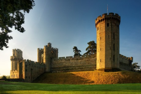 Warwick Castle East Front