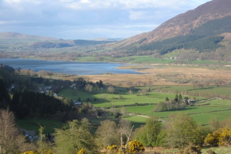 Views of the Lake District National Park, where Whinlatter is based.