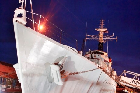 Visit HMS Cavalier and enjoy an overnight on board experience
