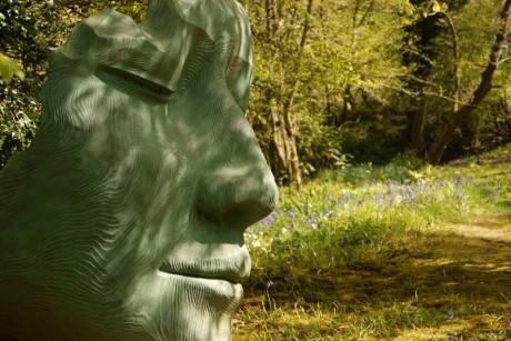 Combining Art And Nature At The Hannah Peschar Sculpture Garden %7C School Travel Inspiration