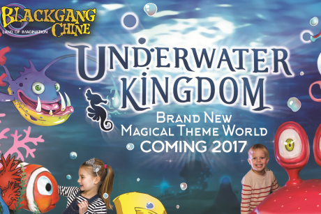 Underwater Kingdom at Blackgang Chine
