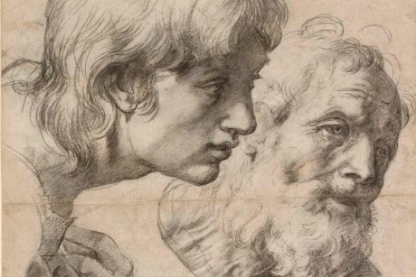Two Apostles by Raphael.
