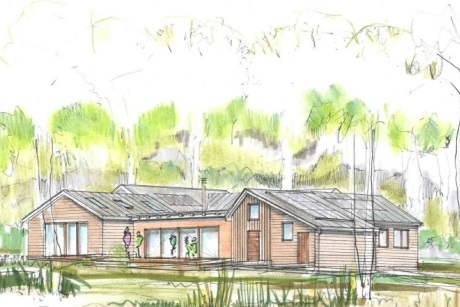 Artists impression of new education centre