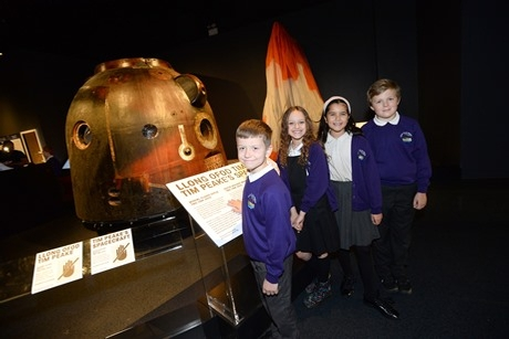 Tim Peake exhibition at National Museum Cardiff