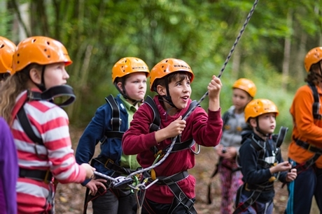 One school's adventures at Oaker Wood