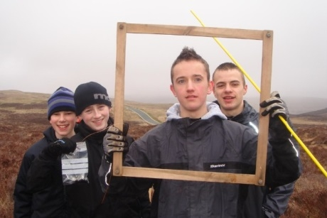 Students explore what the natural landscapes of Snowdonia have to offer